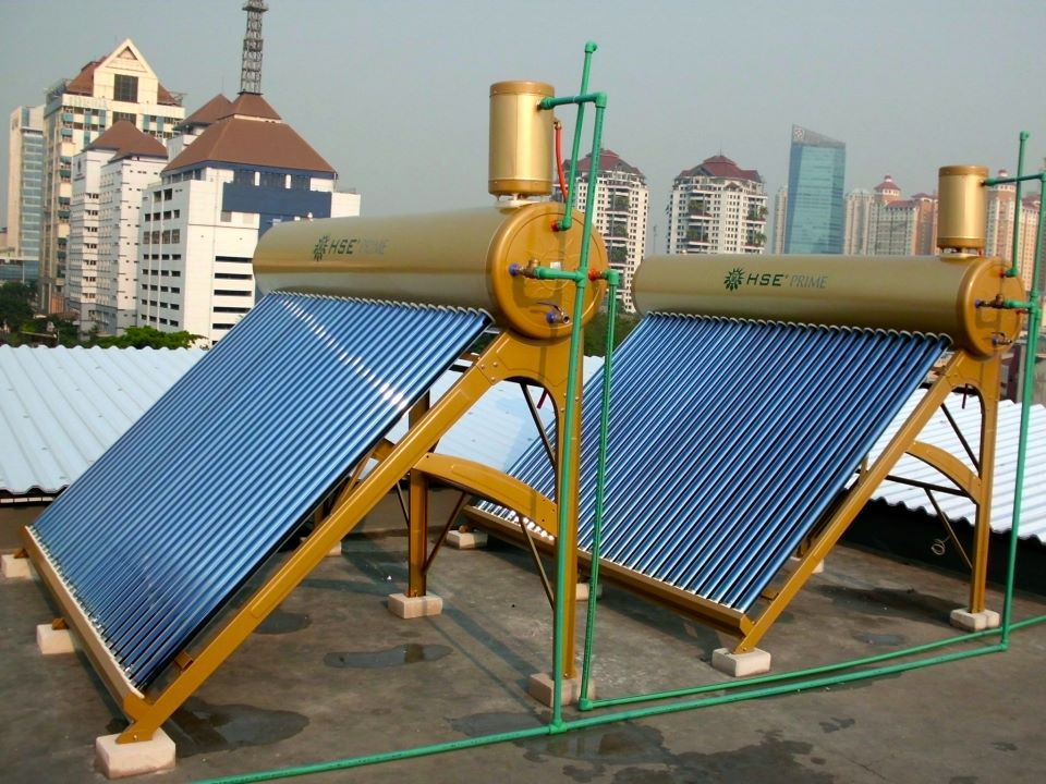 HSE solar water heater Prime